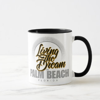 Living the Dream in Palm Beach Mug