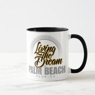 Living the Dream in Palm Beach Mug