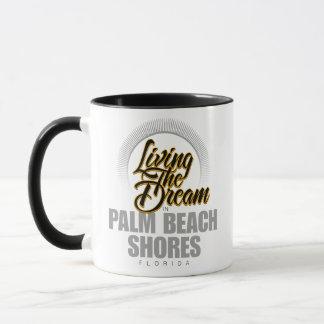Living the Dream in Palm Beach Shores Mug