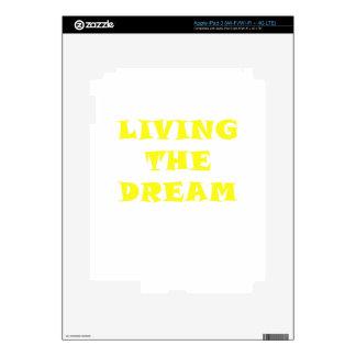 Living the Dream iPad 3 Skins