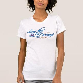 Living The Dream Ladies Casual Scoop T-Shirt
