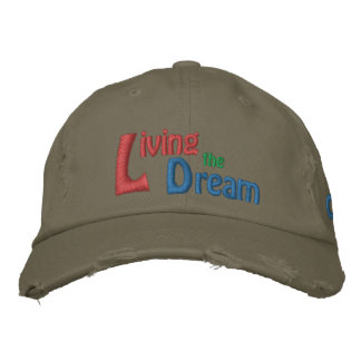 Living the Dream of Dr. Martin Luther King, Jr. Embroidered Baseball Hat