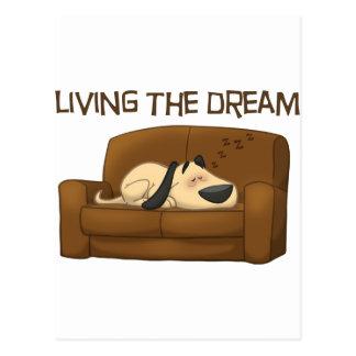Living The Dream Postcard