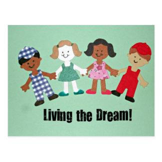 Living the Dream! Postcard