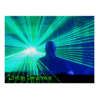 Living the dream - poster