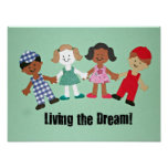 Living the Dream! Poster