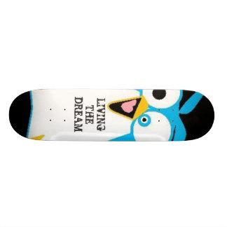 living the dream skateboard