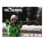 Living the Dream, Vail, Colorado Post Cards