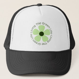 Living the Green Life Trucker Hat