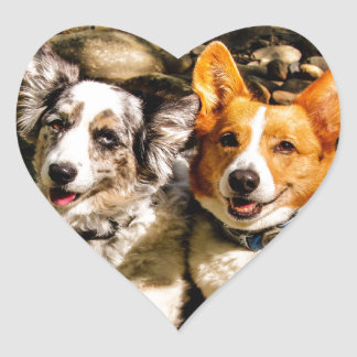 Living the High Life Heart Sticker