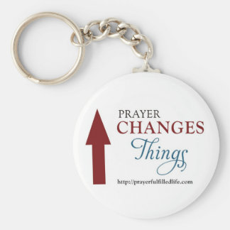 Living The Prayer Fulfilled Life Products Key Chains