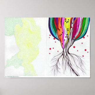 "Living Tree - 11.2"" x 7.84"", Digital Print (Matte)"