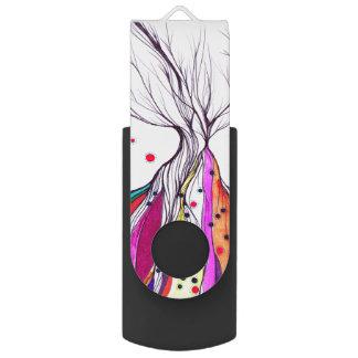 Living Tree - 16 GB USB 3.0 Swivel USB Flash Drive