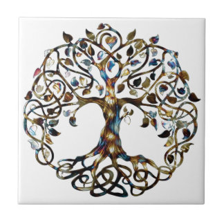Living Tree Ceramic Tile
