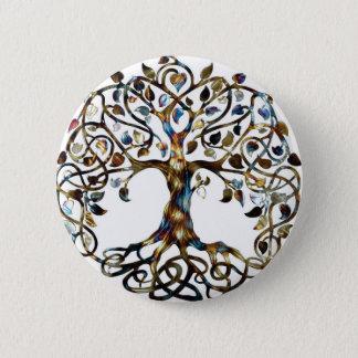 Living Tree Pinback Button