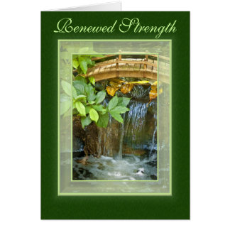 Living Water Get Well Card