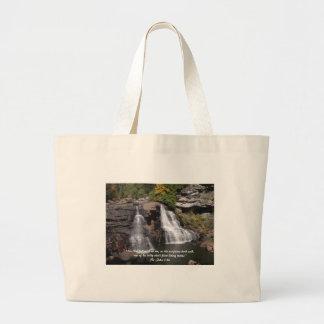 Living Water Jumbo Tote Bag