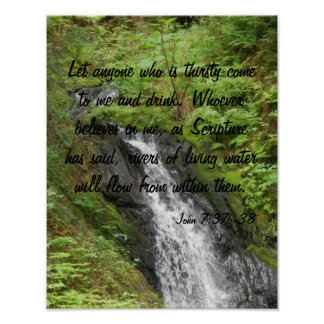 Living Water Poster
