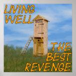 Living Well The Best Revenge Posters