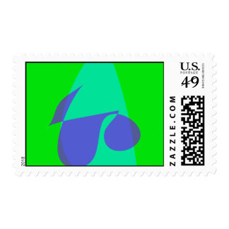 Living with Art Postage Stamps
