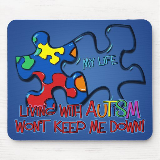 Living With Autism Mousepads
