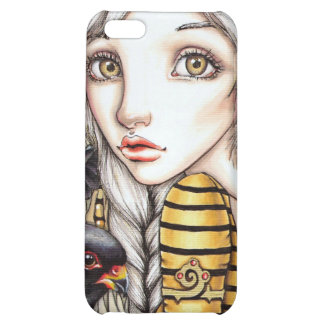 Living with Falcons Case For iPhone 5C