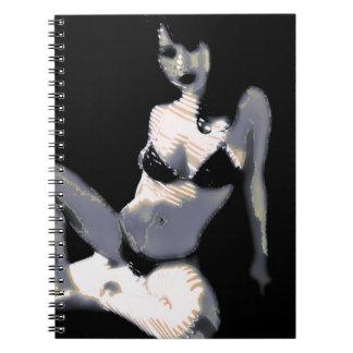 LivingDoll 4 Spiral Notebooks