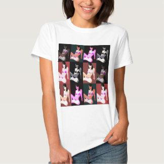 LivingDoll 7 Collage Tee Shirt