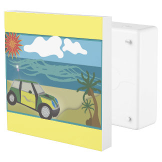 LivingPlug INLET + Faceplate MINI VACATION Outlet Cover