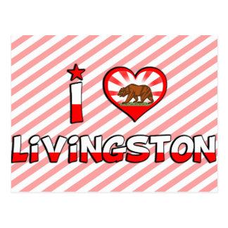 Livingston, CA Postcard