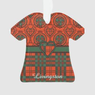 Livingston clan Plaid Scottish tartan