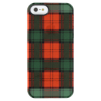 Livingston clan Plaid Scottish tartan Clear iPhone SE/5/5s Case
