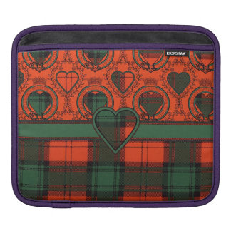 Livingston clan Plaid Scottish tartan iPad Sleeves
