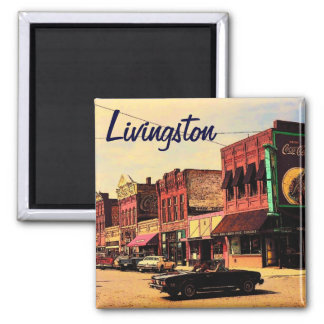 Livingston Montana Magnet