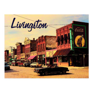 Livingston Montana Postcard