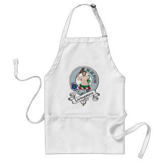 Livingstone Clan Badge Adult Apron