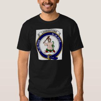 Livingstone Clan Badge T Shirt