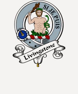 Livingstone Clan Badge Tshirt