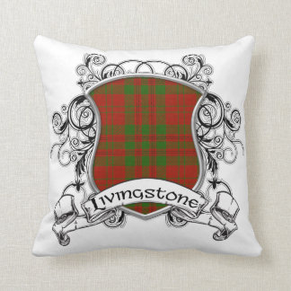 Livingstone Tartan Shield Throw Pillow