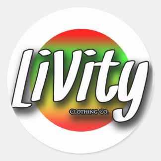Livity Slaps Classic Round Sticker