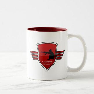 Livonia Airsoft League - Double Logo Mug