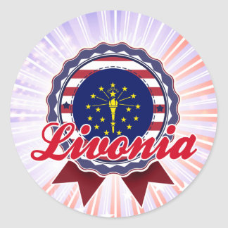 Livonia, IN Sticker