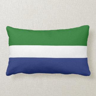 Livonia people ethnic flag throw pillows