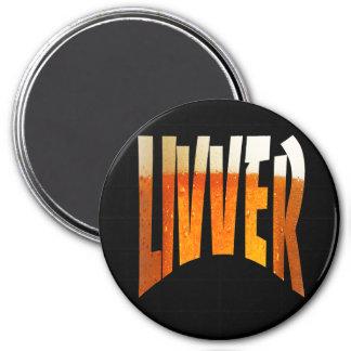 LIVVER round LG magnet