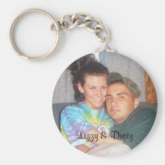 liz316, Lizzy & Dusty Keychain