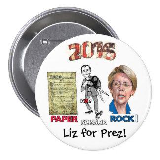Liz for Prez! Pinback Buttons