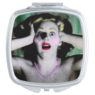 Liz is horrified and terrified vanity mirror