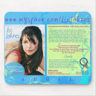 LIZ LOHNES de nuestro calendario 2009 - PROMO Mous Tapetes De Ratón