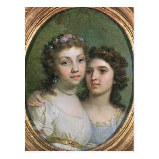 Lizanka y Dashenka, 1784 Postales