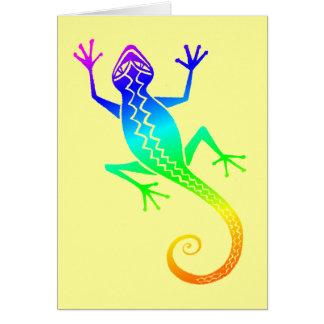 Lizard /8 card